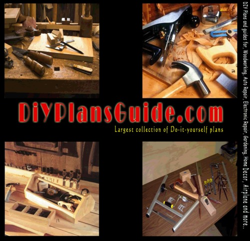 Product picture Roll-Around Utility Cart Guide at Home DIY Woodworking Plan